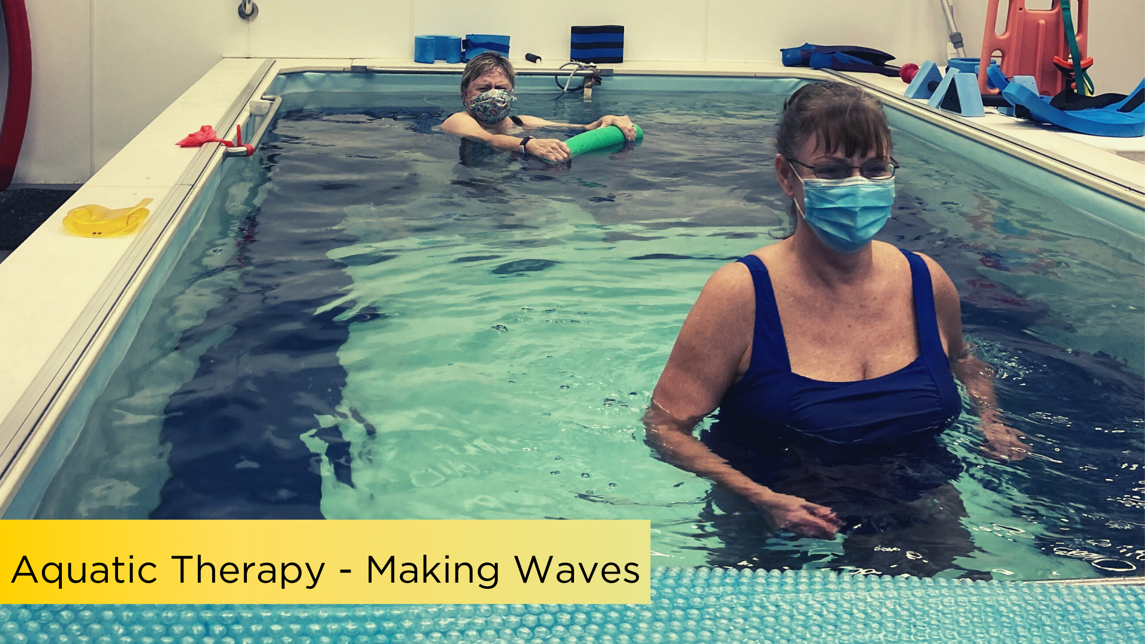 Aquatic Therapy – Making Waves in PT
