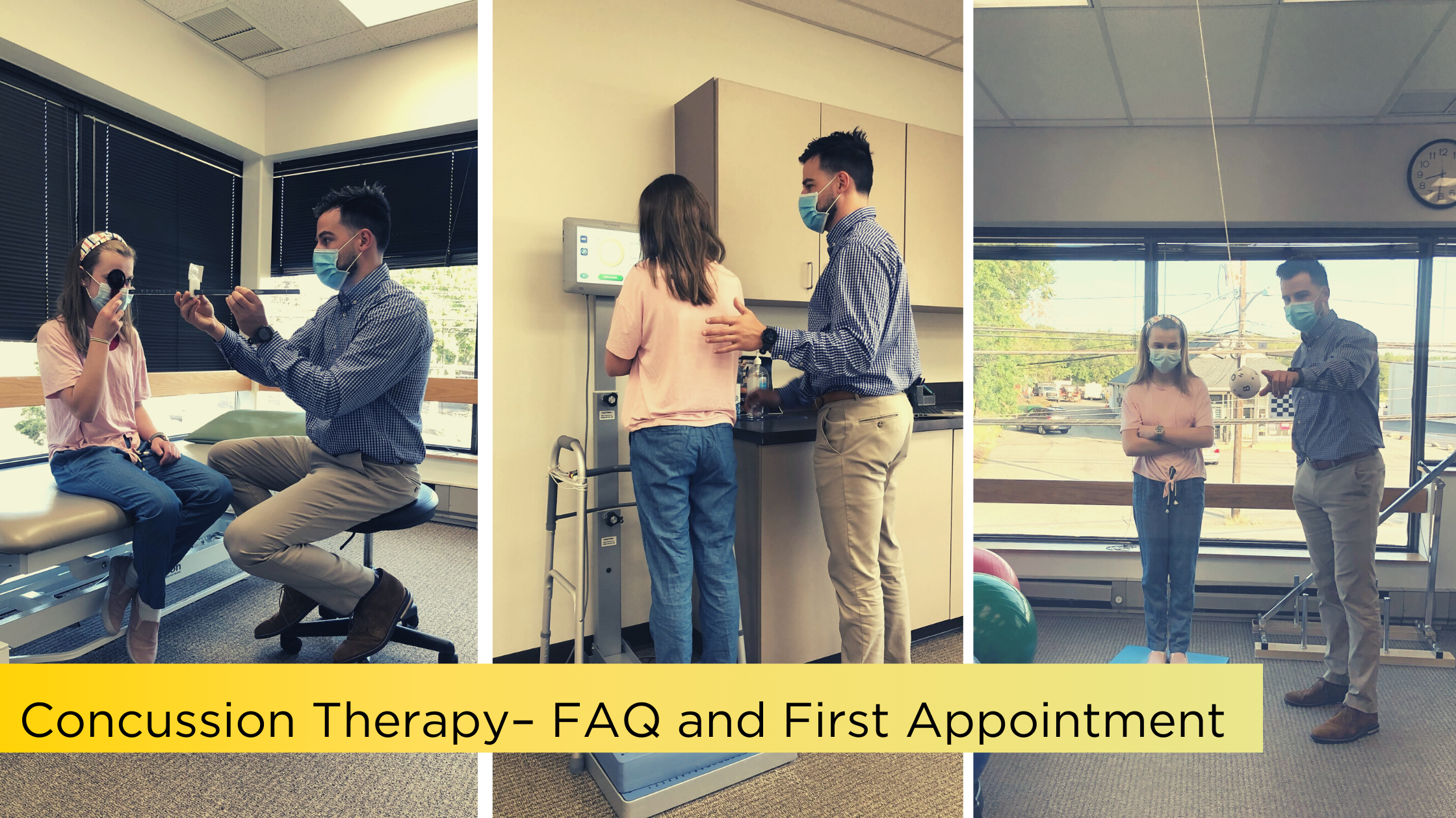 Concussion Therapy – FAQ and First Appointment